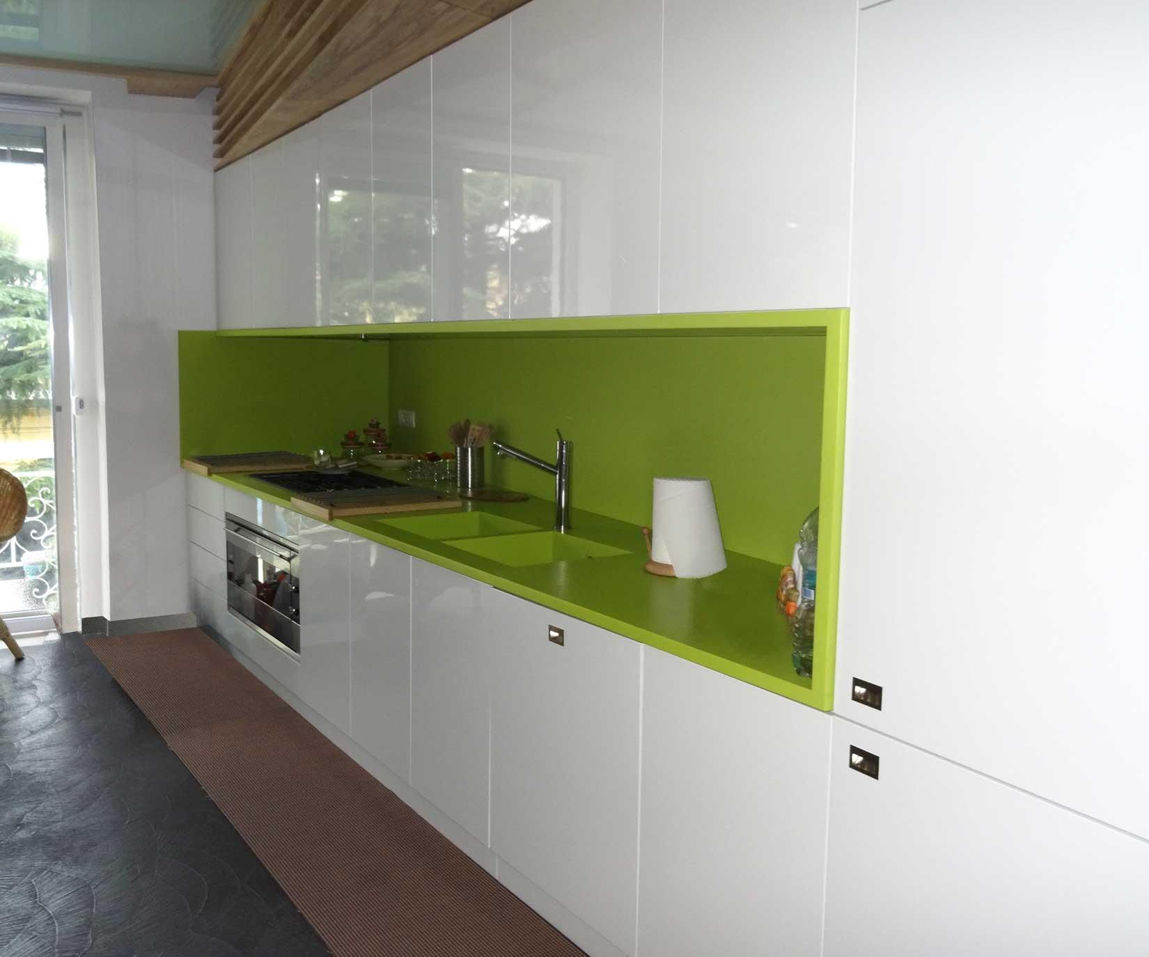Centro lavorazione corian napoli produzione design in corian - Top cucina corian prezzi ...