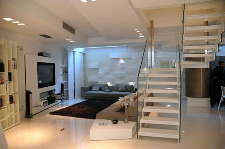 Art e design mobili in dupont corian a napoli - Scale in vetro e acciaio prezzi ...